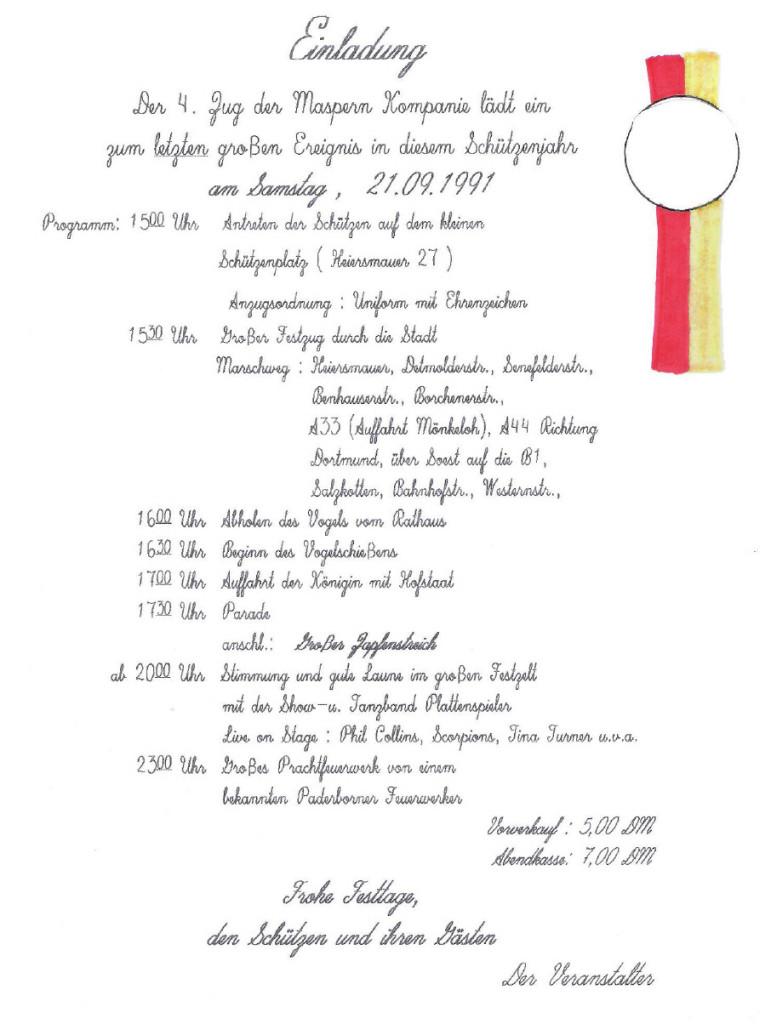 einladung1991